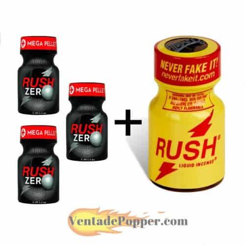 lote popper rush zero a precio barato en venta de popper