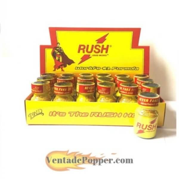 caja popper rush precio mayorista 18 botes venta de poppers España