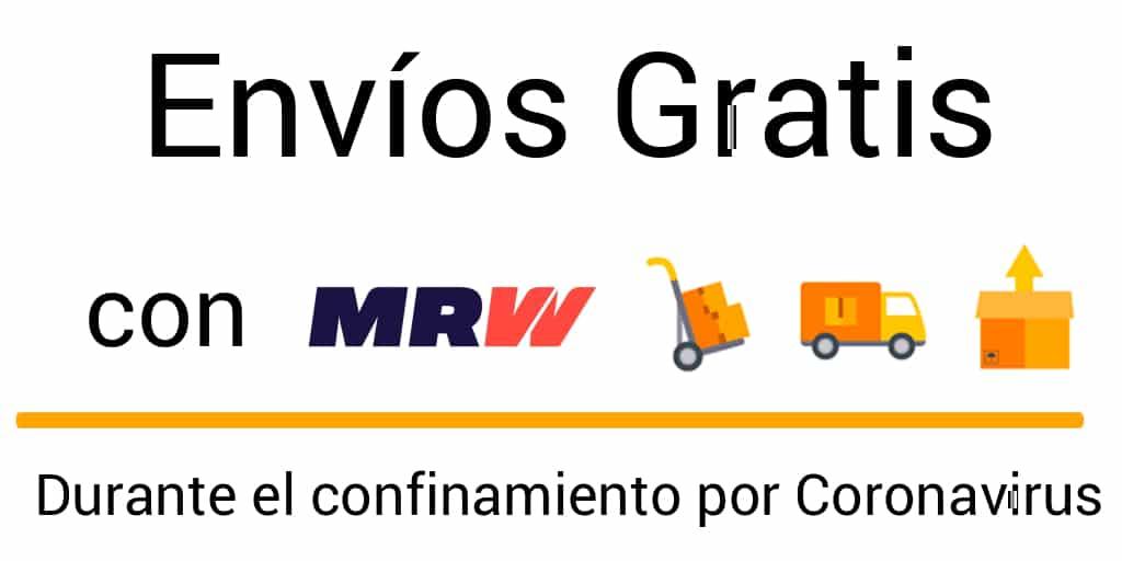 envíos gratis debido al confinamiento por coronavirus