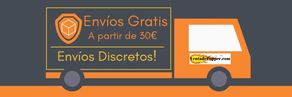 envíos rápidos en venta de popper España