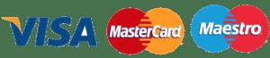 logo de tarjetas visa maesto y mastercard