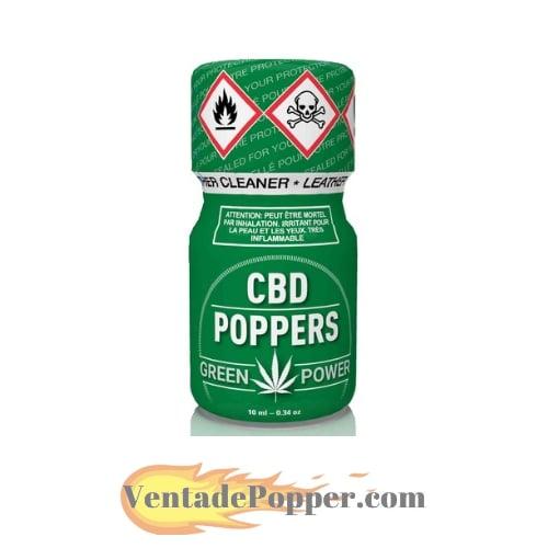 cbd popper bote verde con el logo de venta de popper